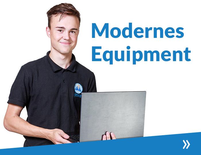 Modernes Equipment